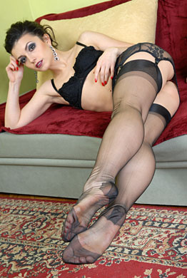 and nylon fetish Stockings